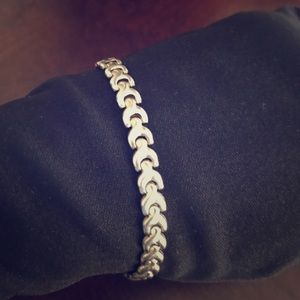 Pretty Italian 925 sterling silver bracelet.